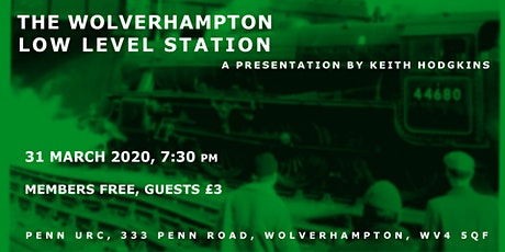Wolverhampton Low Level Station tickets