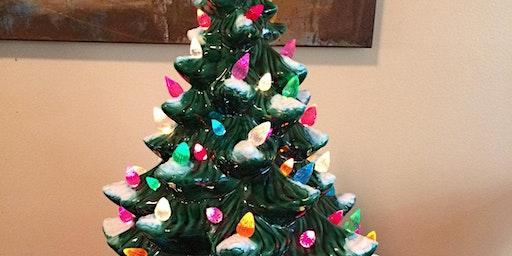 Vintage Ceramic Christmas Tree Class