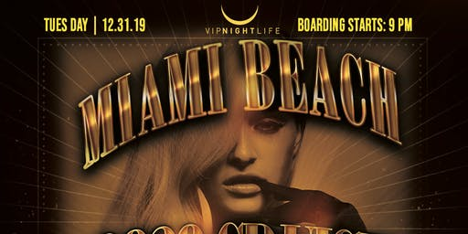 Miami Beach New Year's Eve Cruise 2020