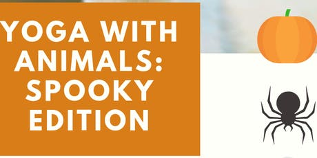 Yoga With Animals: Spooky Edition tickets