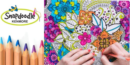 Adult Coloring Night, Snapdoodle Toys & Games Kenmore, Oct 22