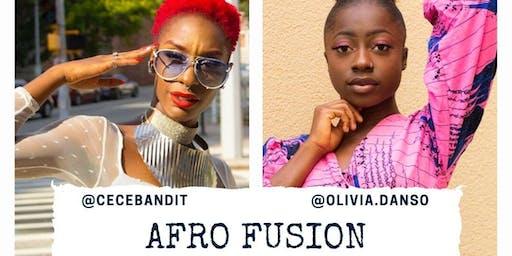 Afro-Fusion dance class
