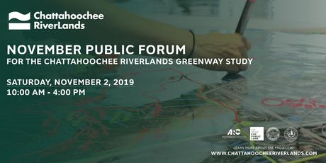 Chattahoochee RiverLands Public Forum tickets