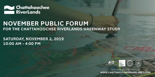 Chattahoochee RiverLands Public Forum