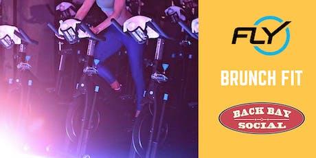 Brunch Fit: Flywheel x Back Bay Social tickets