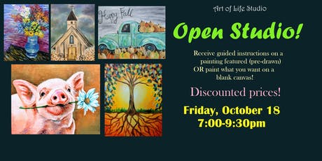 Paint Night: Open Studio tickets