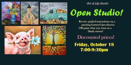 Paint Night: Open Studio
