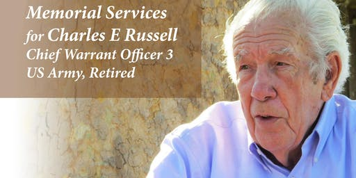 Charles E Russell Local Community Memorial Service