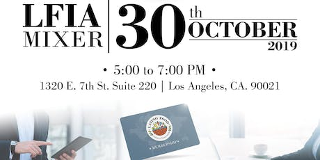 LFIA October Mixer tickets