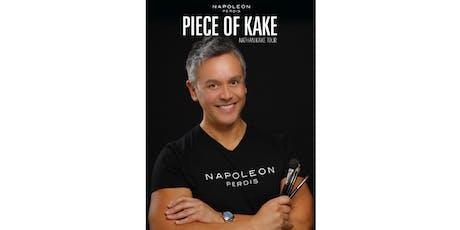 Napoleon Perdis Masterclass with make up artist Nathan Kake tickets