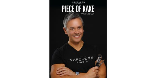 Napoleon Perdis Masterclass with make up artist Nathan Kake
