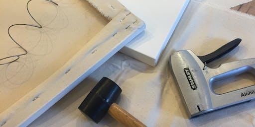 Canvas-Making Workshop