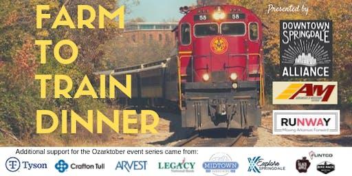 Farm to Train Dinner Excursion