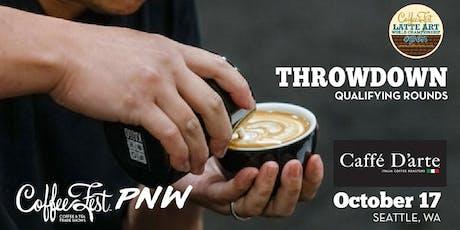 Coffee Fest PNW Latte Art Throwdown Qualifying Rounds at Caffe D'arte tickets
