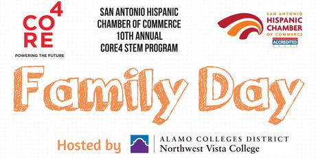 2019 CORE4 STEM Family Day at Northwest Vista College tickets