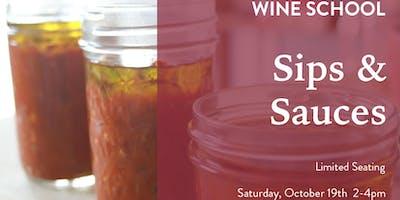 Wine School - Sips & Sauce
