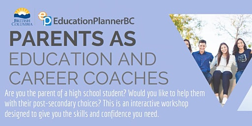 Parents As Career Coaches Feb. 5, 2020