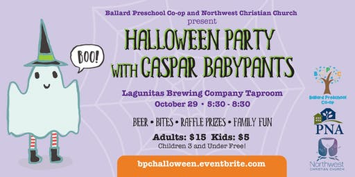 Halloween Party with Caspar Babypants