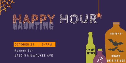 Let's Get This Party Startled: Haunting (Happy) Hour with Brave