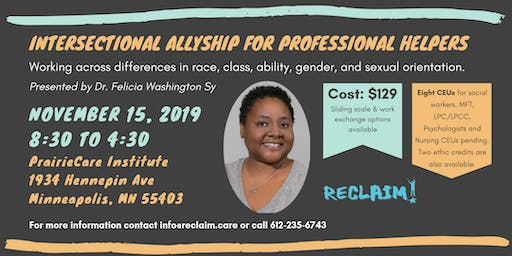 Intersectional Allyship for Professional Helpers