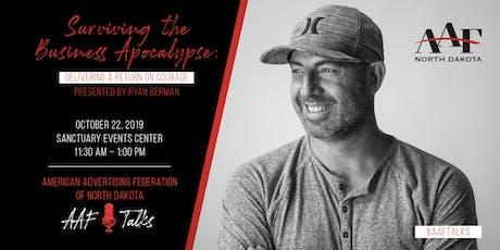 Professional Speaker Event: Ryan Berman tickets