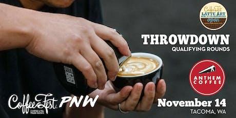 Coffee Fest PNW Latte Art Throwdown Qualifying Rounds @ Anthem Coffee tickets