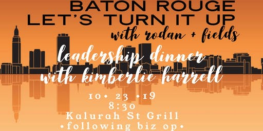 Rodan + Fields® Leader Dinner