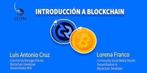 Introducción a Blockchain   Bitcoin  & Decred