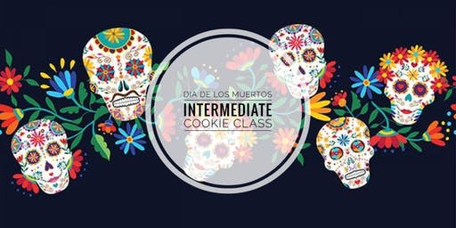 Dia de Los Muertos Cookie Decorating Fun - Intermediate Class