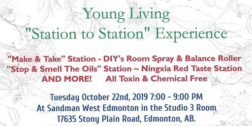 "Young Living ""Station to Station"" Experience"