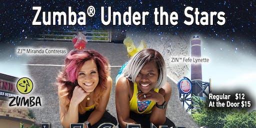 Zumba Under the Stars PT 2