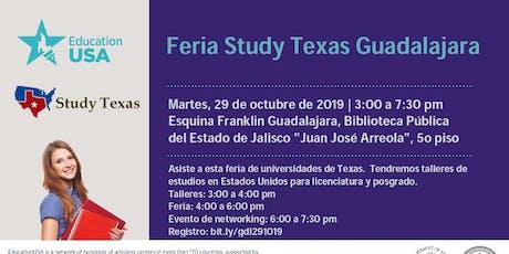Feria Study Texas Guadalajara 2019 entradas