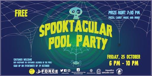 Ellsworth AFB Spooktacular Pool Party