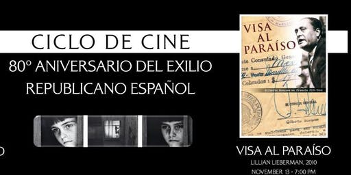 VISA AL PARAÍSO FILM SCREENING AT THE MEXICAN CULTURAL INSTITUTE