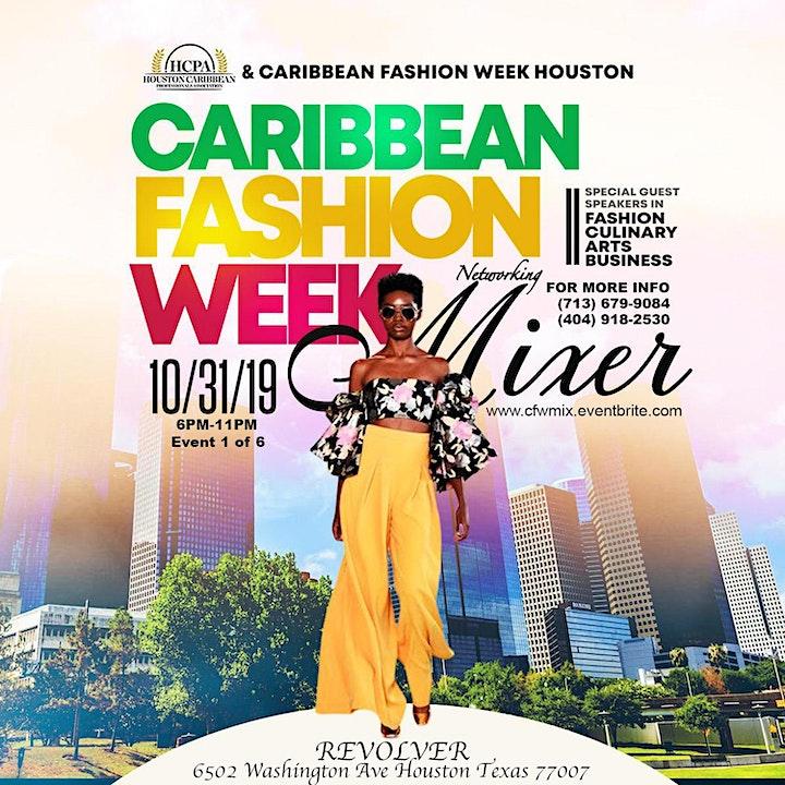 Caribbean Fashion Week Mixer image