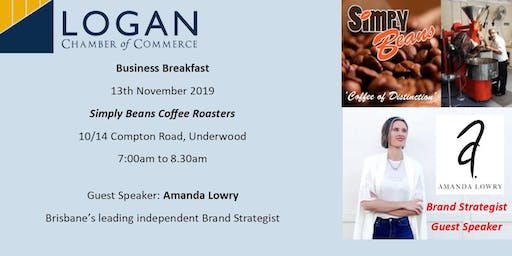 Business Breakfast at Simply Beans