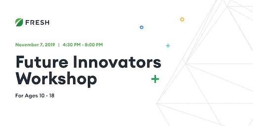 Future Innovators Workshop for Ages 10-18