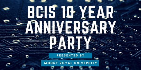 BCIS 10 Year Anniversary Party tickets