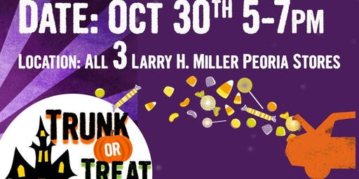 3rd Annual Larry H. Miller Dealerships Trunk or Treat