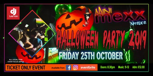 Mini MeXx Nite Life Halloween Party 2019