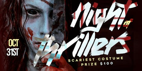 The Night Of Thrillers Halloween Night Bash @ Ultrabar! tickets