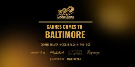 Cannes Comes to Baltimore tickets