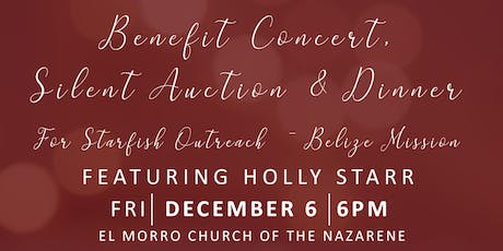 Christmas with Holly Starr Benefit Concert, Silent Auction & Dinner tickets