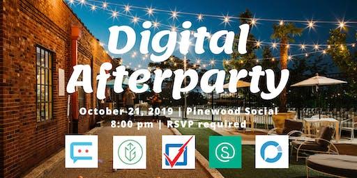 Digital Afterparty at #ICMA2019
