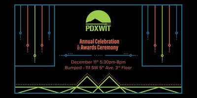 5th Annual PDXWIT Celebration + Awards Ceremony Women + Tech Holiday Party