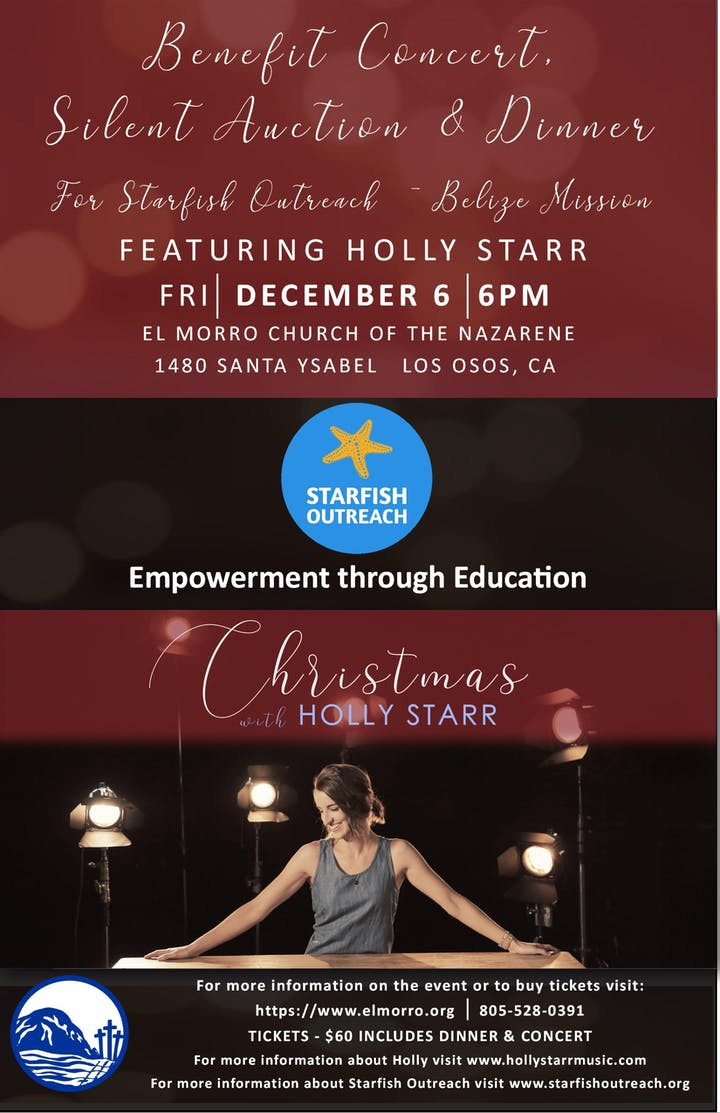 Christmas With Holly.Christmas With Holly Starr Benefit Concert Silent Auction Dinner