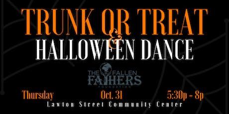 Trunk or Treat & Halloween Dance tickets