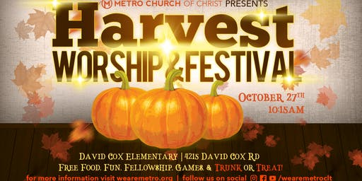Metro Church Presents: Harvest Worship and Festival