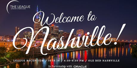 League of Women in Government Welcome to Nashville Networking Reception tickets