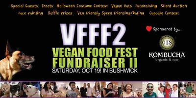 event image VFFF2! Vegan Food Fest Fundraiser II ! Are... You... READY!?!